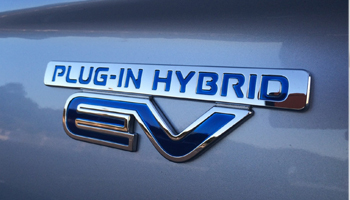PHEV Badge on Car - EHV Safety