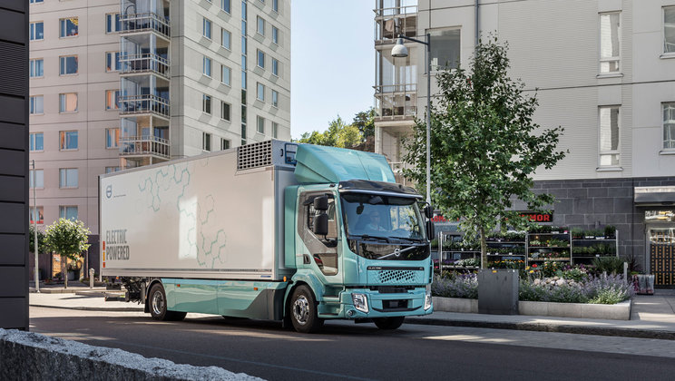 volvo electric truck