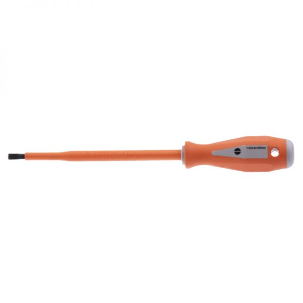 EHV-SLS354-Insulated-Slotted-Screwdriver